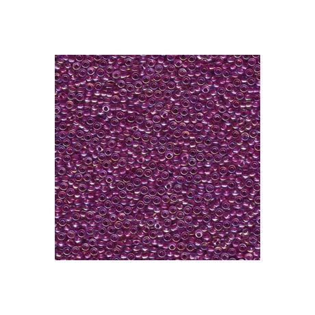 Miyuki kásagyöngy 11/0  11-9264  Málna közepű kristály AB  5g