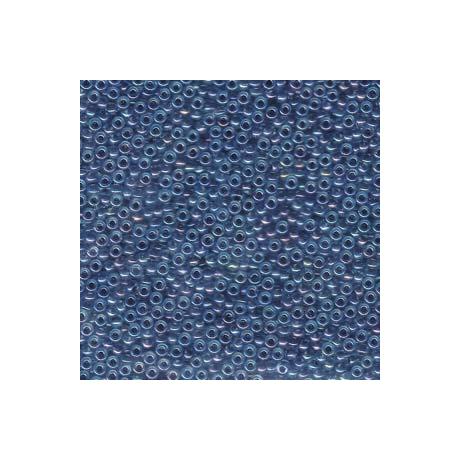 Miyuki kásagyöngy 11/0  11-9347  Tengerészkék közepű aqua AB  5 g