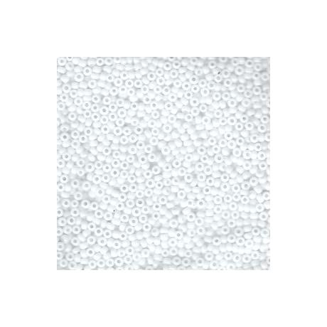 Miyuki kásagyöngy 11/0  11-9402  Opak fehér  5g