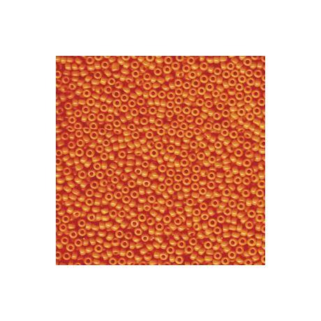 Miyuki kásagyöngy 11/0  11-9406L Opak világos narancssárga 5 g