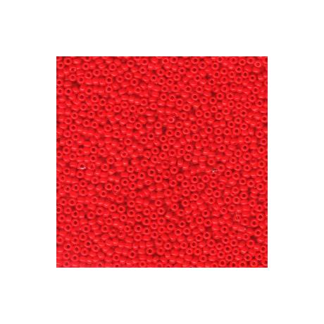 Miyuki kásagyöngy 11/0  11-9407  Opak piros  5 g