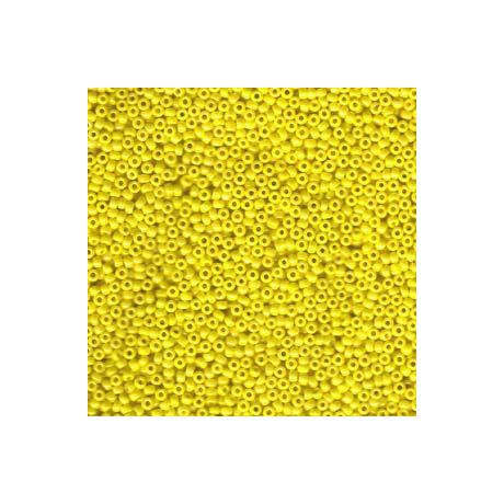 Miyuki kásagyöngy 11/0  11-9422  Opak sárga lüszter  5g