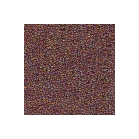 Miyuki kásagyöngy 15/0  15-9134FR  Matt világos barna AB  5g