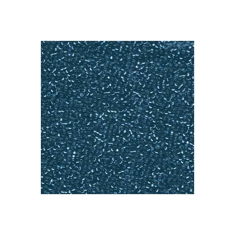 Miyuki kásagyöngy 15/0  15-91425  Ezüst közepű kék cirkon*  5g