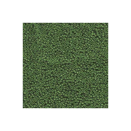 Miyuki kásagyöngy 15/0  15-91488  Merítve festett opak erdő zöld*  5g
