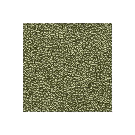 Miyuki kásagyöngy 15/0  15-92033  Matt metál világos olive  5g