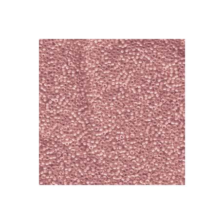 Miyuki kásagyöngy 15/0  15-92200  Szinezett közepű rózsapink AB  5 g