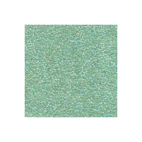 Miyuki kásagyöngy 15/0  15-9277  Színezett közepű zöldcitrom AB  5g