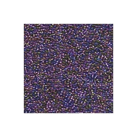 Miyuki kásagyöngy 15/0  15-93056  Szinezett közepű bíbor/arany mix  5g