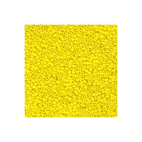 Miyuki kásagyöngy 15/0  15-9404  Opak sárga  5g
