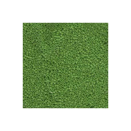 Miyuki kásagyöngy 15/0  15-9411  Opak borsózöld  5 g
