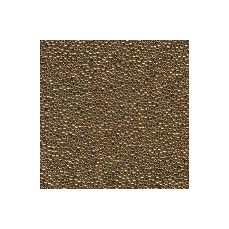 Miyuki kásagyöngy 15/0  15-9457L  Metál világos bronz  5g