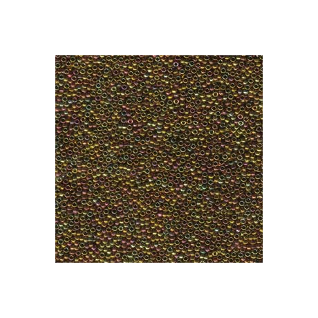 Miyuki kásagyöngy 15/0  15-9462  Metál arany irizáló  5g