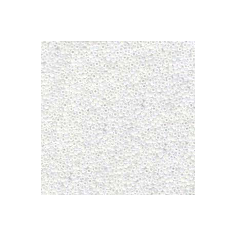 Miyuki kásagyöngy 15/0  15-9471  Fehér gyöngyház  5g