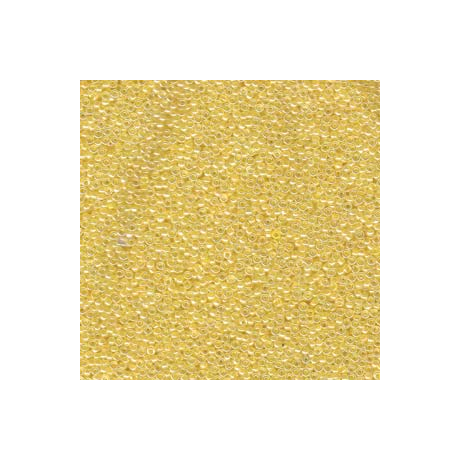 Miyuki kásagyöngy 15/0  15-9516  Szinezett közepű nárcisz ceylon  5g
