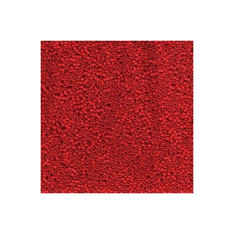 Miyuki kásagyöngy 15/0  15-9408  Opak piros  5 g