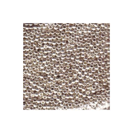 Miyuki kásagyöngy 8/0   8-91051  Galvanizált ezüst *  5g