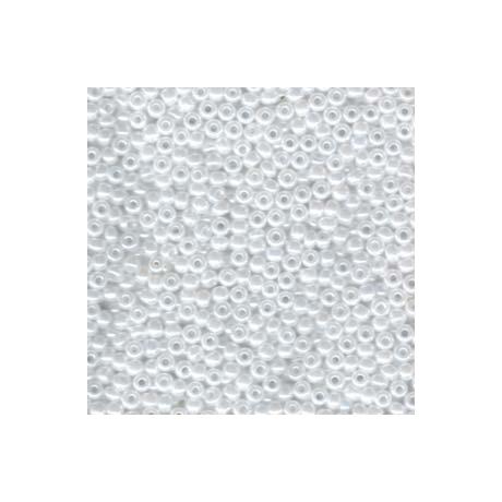 Miyuki kásagyöngy 8/0   8-9528  Fehér ceylon  5g