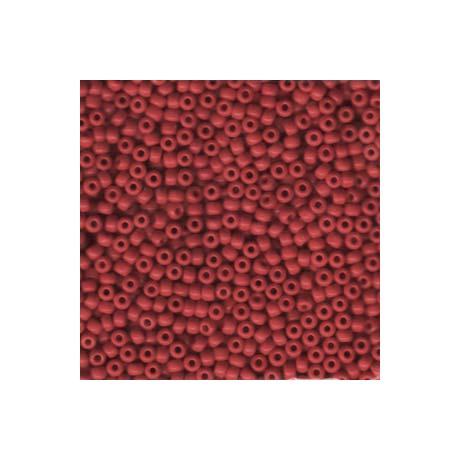 Miyuki kásagyöngy 8/0   8-9408  Opak piros  5 g
