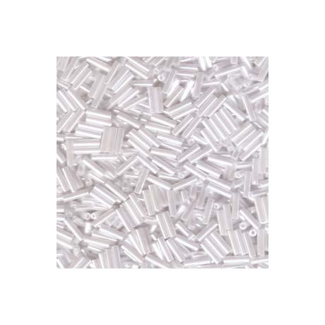 Miyuki szalmagyöngy 6mm  BGL2-9528  Fehér gyöngyház ceylon  5g