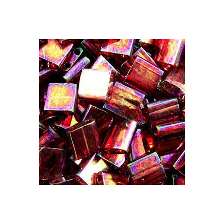 Miyuki Tila gyöngy 5*5 mm  TL301  Rózsaszín arany lüszter  5g