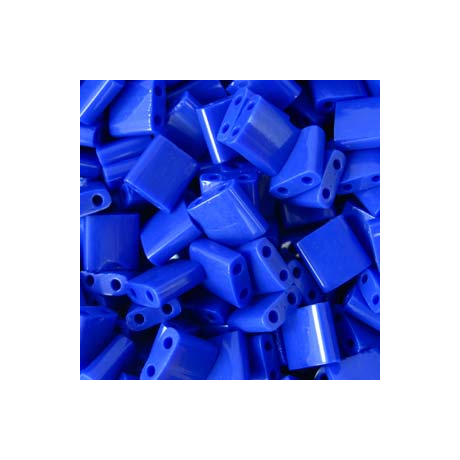 Miyuki Tila gyöngy 5*5 mm  TL414  Opak kobaltkék  5g