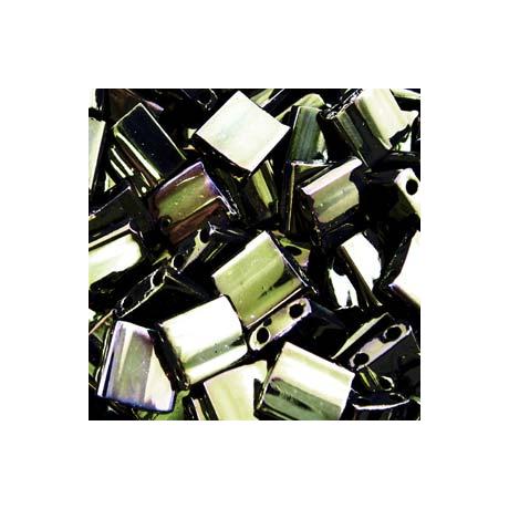 Miyuki Tila gyöngy 5*5 mm  TL458  Barna irizáló  5g