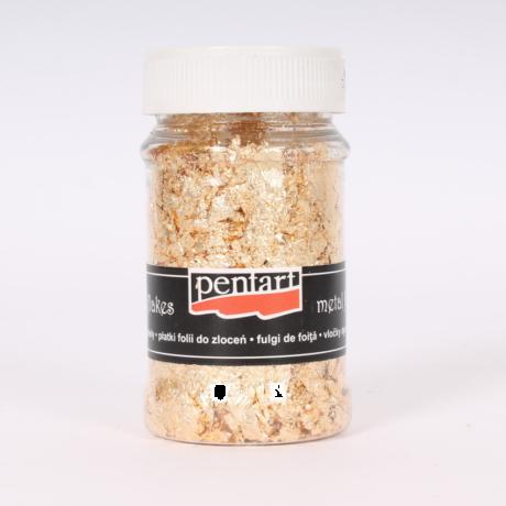 Pentart Füstfólia pehely, arany 1 (M7), 100 ml