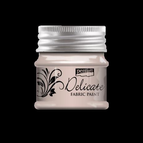 Pentart Delicate textilfesték, rózsaarany, 50 ml