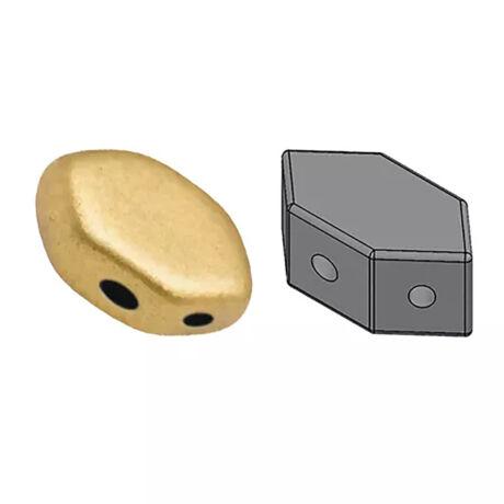 PAROS 7*4 mm 00030-01710 Világos mattarany 5 g