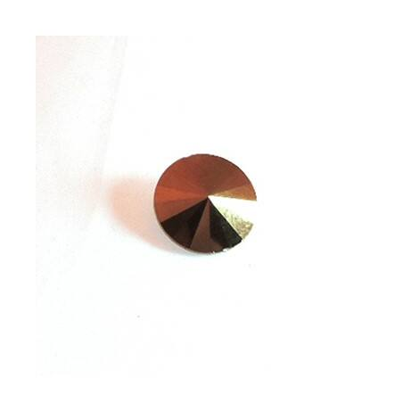 Üvegkristály, arany parabola, 18 mm, 10 db